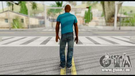 Blue Shirt Vic für GTA San Andreas zweiten Screenshot