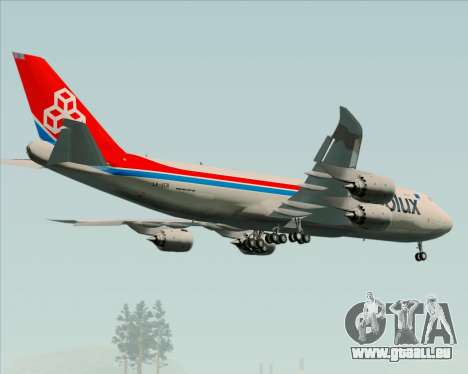 Boeing 747-8 Cargo Cargolux für GTA San Andreas Motor