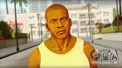 Franklin pour GTA San Andreas troisième écran