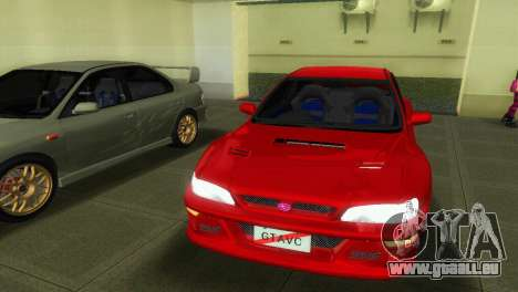 Subaru Impreza WRX STI GC8 22B pour une vue GTA Vice City de la droite