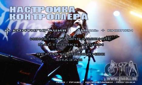 Metal Menu - Immortal (Live) für GTA San Andreas her Screenshot