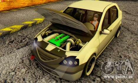 Dacia Logan MOR für GTA San Andreas linke Ansicht