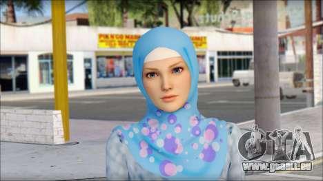 Gaza Tina Armstrong pour GTA San Andreas troisième écran