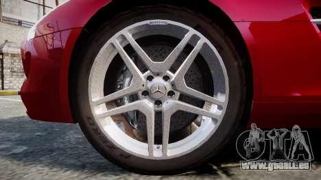 Mercedes-Benz SLS AMG [EPM] pour GTA 4 Vue arrière