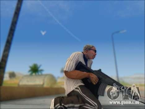 Israélien carabine ACE 21 pour GTA San Andreas huitième écran