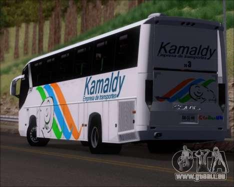 Comil Campione 3.45 Scania K420 Kamaldy für GTA San Andreas obere Ansicht