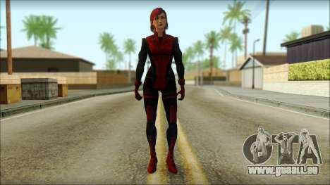 Mass Effect Anna Skin v3 für GTA San Andreas