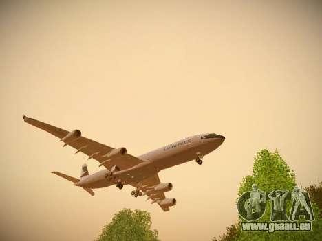 Airbus A340-300 Cathay Pacific pour GTA San Andreas laissé vue
