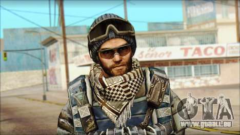 Vétéran (M) v2 pour GTA San Andreas troisième écran