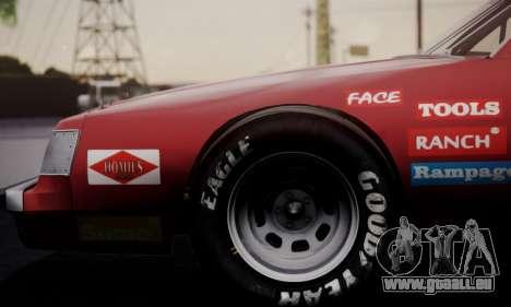 Buick Regal 1983 für GTA San Andreas Rückansicht
