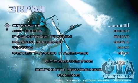 Metal Menu - Immortal (Live) für GTA San Andreas sechsten Screenshot