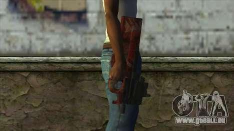 P90 from PointBlank v4 pour GTA San Andreas troisième écran