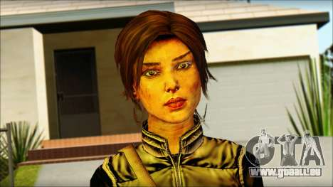 Tomb Raider Skin 1 2013 pour GTA San Andreas troisième écran