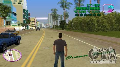 Green Font Color With Logo für GTA Vice City dritte Screenshot
