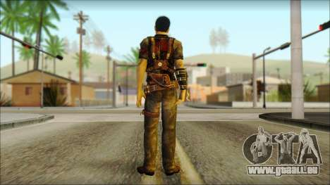 Wei Shen From Sleeping Dogs pour GTA San Andreas deuxième écran