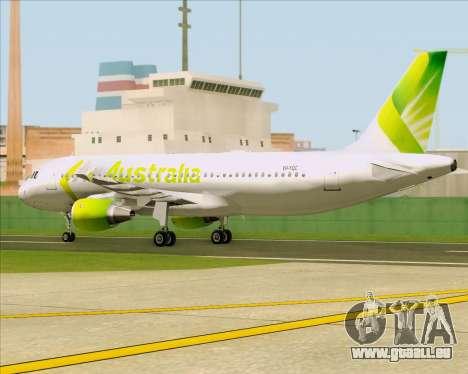 Airbus A320-200 Air Australia pour GTA San Andreas vue intérieure