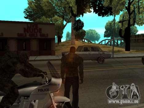 Pantalon de bandit de Stalker pour GTA San Andreas troisième écran