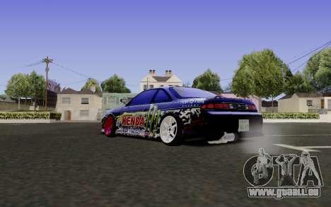 Nissan Silvia S14 Monster Energy für GTA San Andreas linke Ansicht