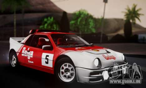 Ford RS200 Evolution 1985 pour GTA San Andreas roue
