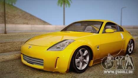Nissan 350Z Turkey Tuned Drift für GTA San Andreas