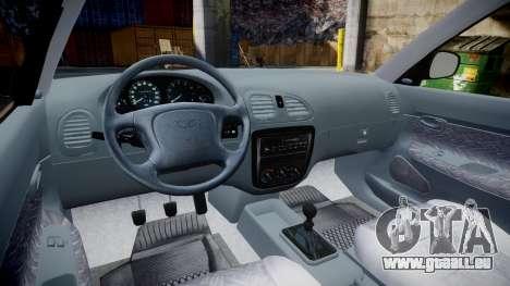 Daewoo Nubira I Sedan S PL 1997 für GTA 4 Rückansicht