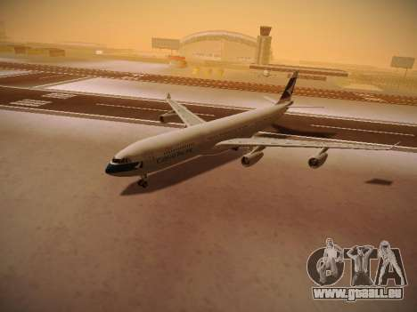 Airbus A340-300 Cathay Pacific für GTA San Andreas Unteransicht