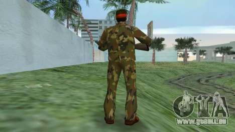Camo Skin 02 GTA Vice City pour la troisième écran