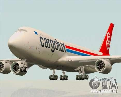 Boeing 747-8 Cargo Cargolux für GTA San Andreas