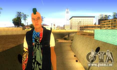 Punk v2 für GTA San Andreas zweiten Screenshot