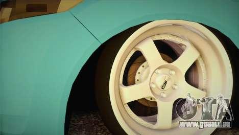 Honda Accord 2010 Hellaflush für GTA San Andreas zurück linke Ansicht