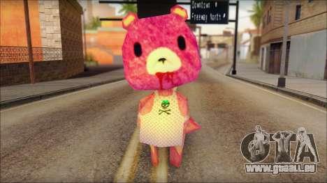 Gloomy the Foxy Bear Ped Skin pour GTA San Andreas