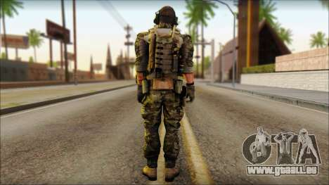 Engineer from BF4 für GTA San Andreas zweiten Screenshot