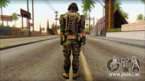 Engineer from BF4 pour GTA San Andreas deuxième écran