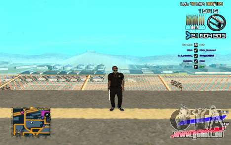 C-HUD by Radion edited SampHack pour GTA San Andreas