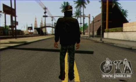 Kenny from The Walking Dead v3 pour GTA San Andreas deuxième écran