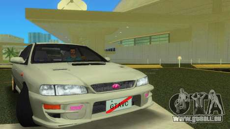 Subaru Impreza WRX STI GC8 Sedan Type 2 für GTA Vice City linke Ansicht