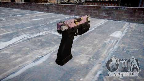 Pistolet Glock 20 kawaii pour GTA 4 secondes d'écran