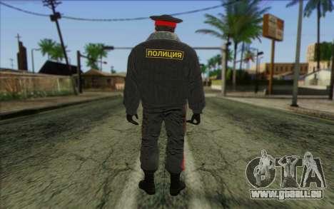 La Police De La Russie De La Peau 1 pour GTA San Andreas deuxième écran
