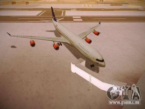 Airbus A340-300 Scandinavian Airlines pour GTA San Andreas