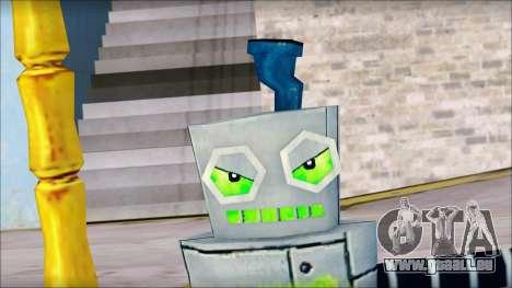 Hamsmp from Sponge Bob pour GTA San Andreas quatrième écran