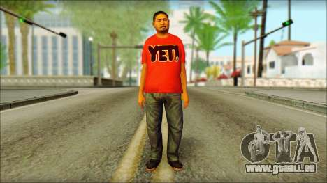 GTA 5 Ped 22 für GTA San Andreas