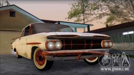 Chevrolet Biscayne 1959 Ratlook für GTA San Andreas