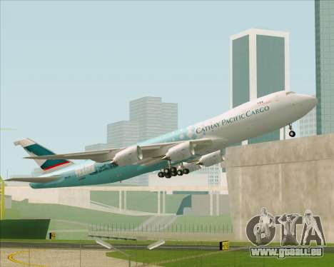 Boeing 747-8 Cargo Cathay Pacific Cargo pour GTA San Andreas