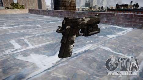 Pistolet Kimber 1911 Fantômes pour GTA 4 secondes d'écran