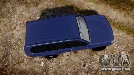 Toyota Land Cruiser pour GTA 4 est un droit