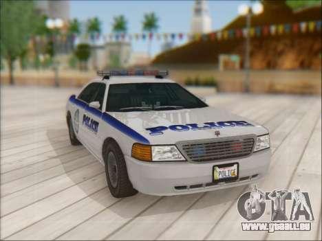 Admiral Police pour GTA San Andreas vue de côté