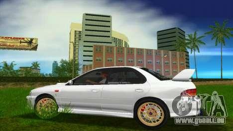 Subaru Impreza WRX STI GC8 Sedan Type 3 pour GTA Vice City vue arrière
