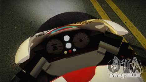 Bati RR 801 Redwood pour GTA San Andreas sur la vue arrière gauche