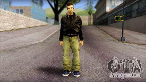 GTA 3 Claude Ped für GTA San Andreas