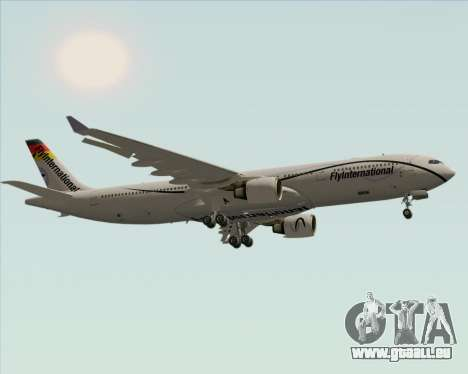 Airbus A330-300 Fly International pour GTA San Andreas vue arrière